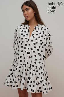 Nobody's Child Isabelle Spot Print Mini Dress