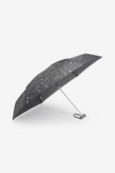 Grey Stars Umbrella
