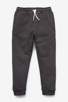 Mid Grey Super Sueded Joggers (3-16yrs)