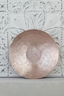 Blush Metal Platter