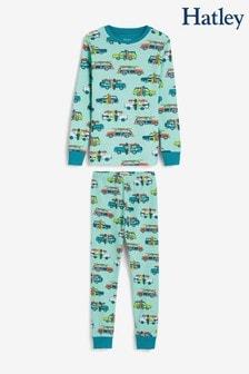 Hatley Blue Surfs Up Organic Cotton Pyjama Set