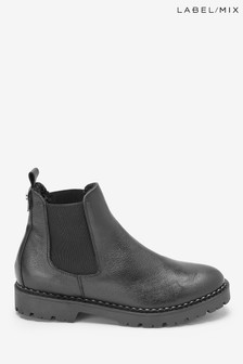 Mix/Shoe The Bear Leather Lined Chelsea Boots
