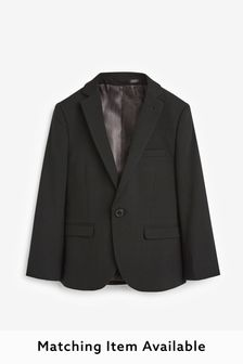 Black Skinny Fit Suit Jacket (12mths-16yrs)