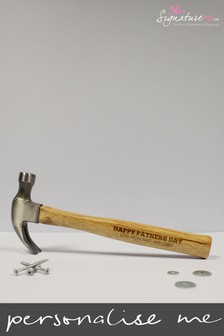 Personalised Wooden Hammer by Signature PG