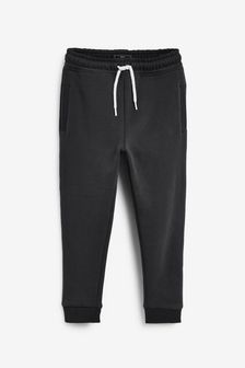 Black Super Sueded Joggers (3-16yrs)