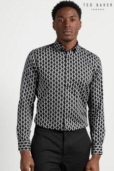 Ted Baker Linbal Zigzag Print Shirt
