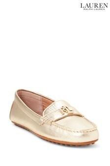 Lauren Ralph Lauren® Soft Leather Logo Barnsbury Loafers