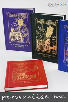 Personalised Horrible Histories Book by Signature Book Publishing