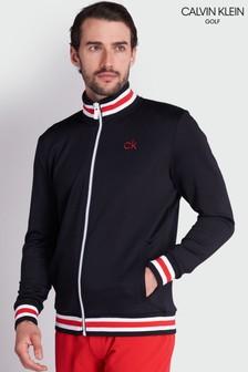 Calvin Klein Golf Black Thomson Full Zip Top
