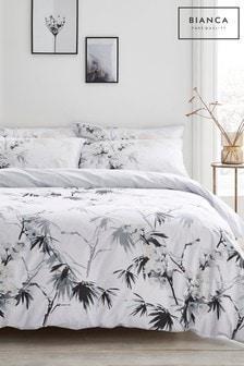 Bianca Kyoto Oriental Floral Cotton Duvet Cover And Pillowcase Set
