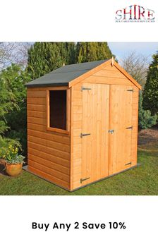 Bute 4ft X 6ft Garden Shed Assembled By Shire