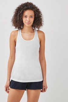 Tommy Hilfiger White Core Solid Vest
