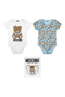 Moschino Baby Pink Babygrow Set