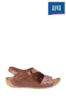 Riva Brown Barcelona Summer Sandals