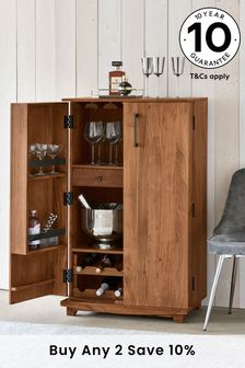 Natural Amsterdam Drinks Cabinet