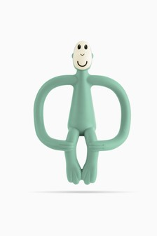 Matchstick Monkey Teething Toy - Mint Green