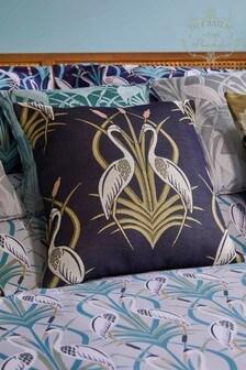 The Chateau by Angel Strawbridge Heron Moat Cushion