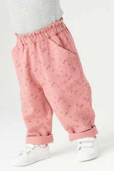 Pink Brushed Trousers (3mths-7yrs)