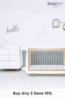 Grey Snüzkot Skandi 2 Piece Nursery Furniture Set