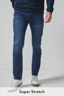 Dark Blue Slim Fit Ultimate Comfort Super Stretch Jeans