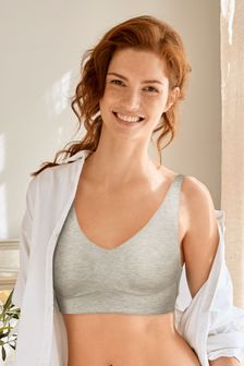 Grey Daisy Next Forever Comfort® Longline Non Wired Bra