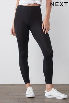 Black Full Length Leggings 2 Pack