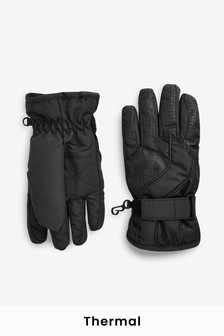 Black Ski Gloves (Older)