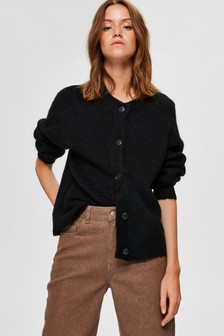 Selected Femme Lulu Supersoft Cropped Cardigan