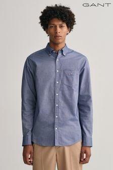 GANT Dark Blue Oxford Shirt