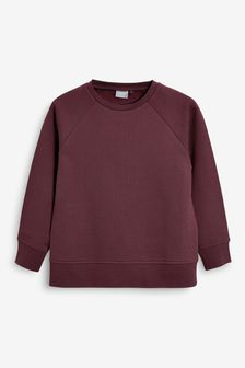 Berry Crew Neck Sweater (3-16yrs)