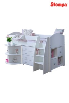 Eli E White Cabin Bed by Kids Avenue