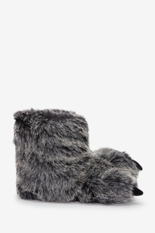Claw Slipper Boots