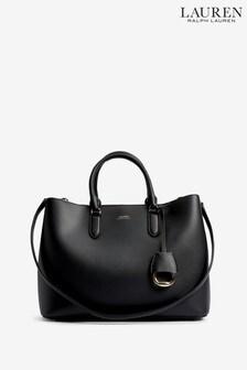 Lauren Ralph Lauren® Black Marcy Satchel Bag