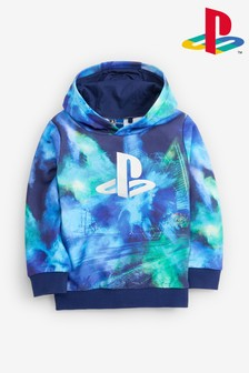 Blue PlayStation™ Galactic Hoody (3-16yrs)