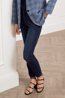 Dark Denim Soft Touch Skinny Jeans