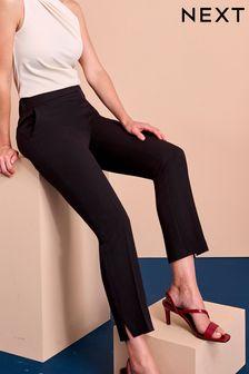 Black Shapewear Slim Trousers