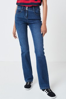 Dark Wash Enhancer Boot Cut Jeans