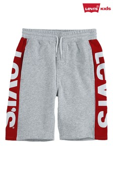 Levi's® Grey Logo Jogger Shorts