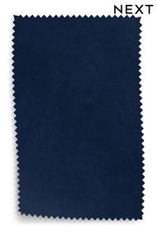 Navy Plush Velvet Fabric By The Roll