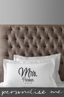 Personalised Anniversary Pillowcases