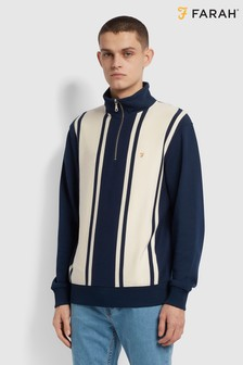 Farah Blue California Sweater