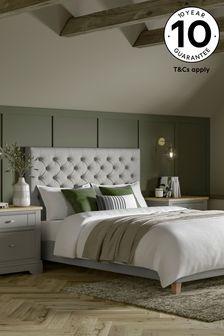 Wool Blend Grey Paris Bed