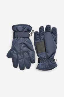 Navy Ski Gloves (Older)