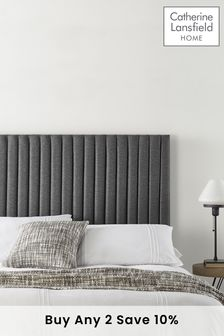 Charcoal Soho Collection Headboard By Catherine Lansfield