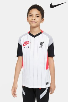 Nike White Liverpool Air Max Football T-Shirt