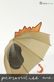Personalised Dinosaur Umbrella by Loveabode