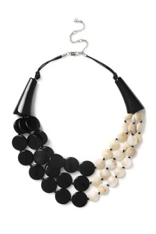 Aela Mono Shell Layered Necklace