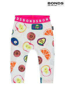 Bonds Fruit Sticker Fun White Leggings