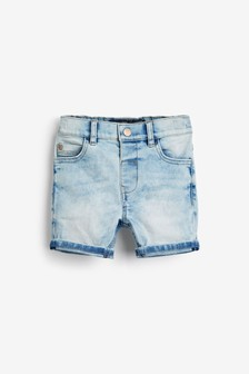 Light Blue Denim Shorts (3mths-7yrs)