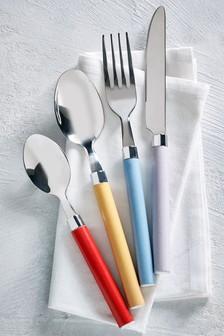 16 Piece Brights Cutlery Set